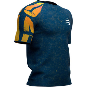 Compressport Training Kona 2019 T-shirt Homme, blue